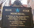 Blue Star Marker & Blue Star Memorial By Way