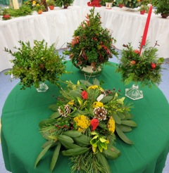 Christmas Greens and Gourmet Gifts Sale