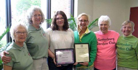Garden Clubs Scholarship Awards Times Two