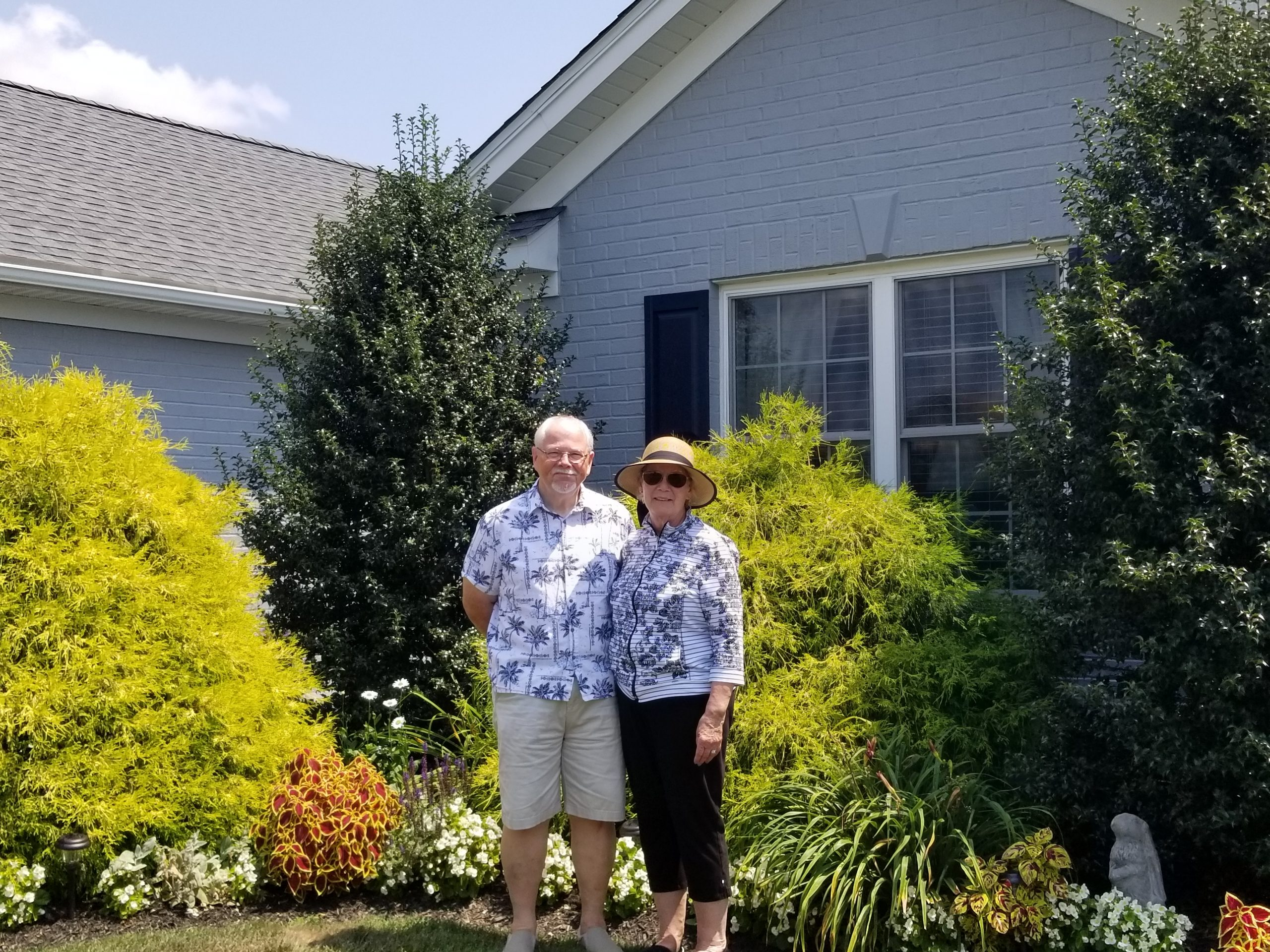 August 2019 Garden of the Month